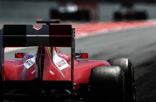 Nuevo alerón trasero del Ferrari en España 2011