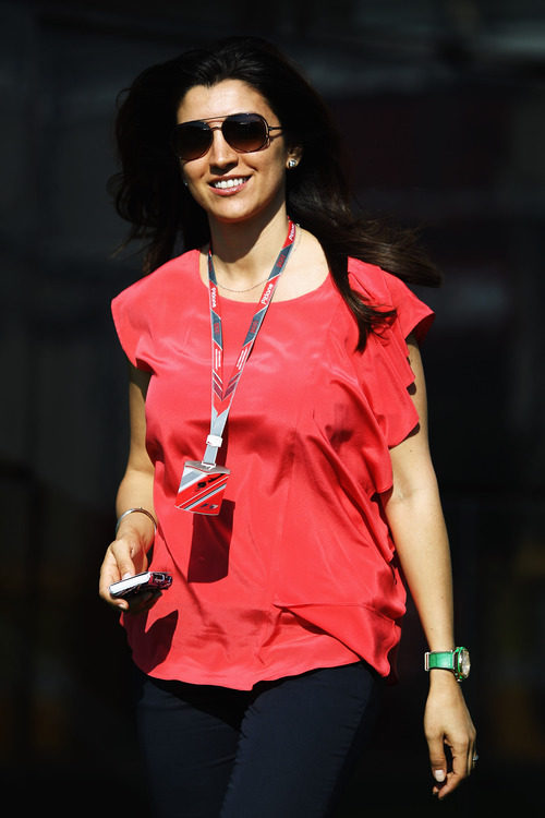 Fabiana Flosi, la novia de Bernie Ecclestone