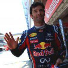 Mark Webber logró la 'pole' en el GP de España 2011
