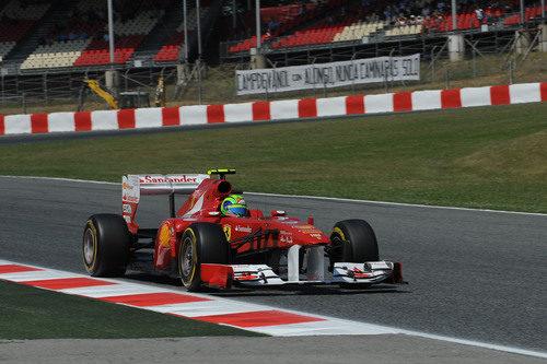 Massa fue casi un segundo más lento que Alonso en clasificación