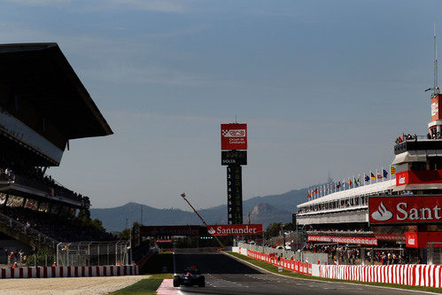 Recta principal del Circuit de Catalunya, GP de España 2011