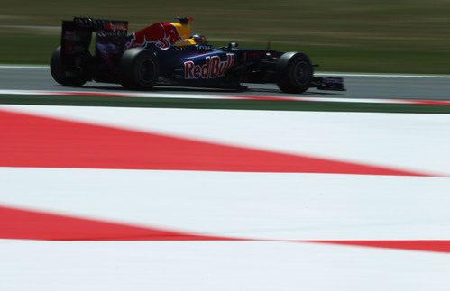 Vettel este sábado en el GP de España 2011