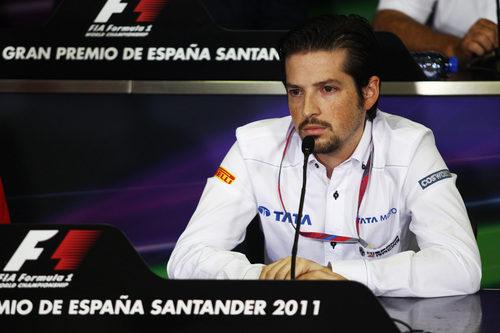 Carabante Jr. se estrenó en rueda de prensa oficial en España 2011