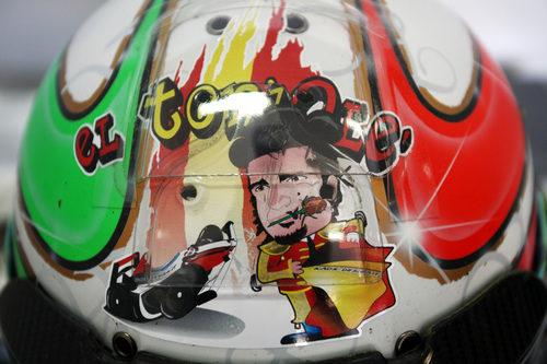 Liuzzi, torero de Hispania en el GP de España 2011