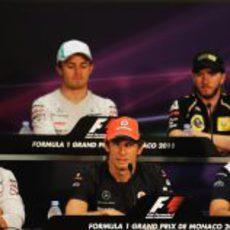 Primera rueda de prensa del GP de Mónaco 2011