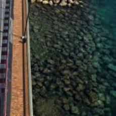 D'Ambrosio pasa junto al mar en el circuito de Montecarlo