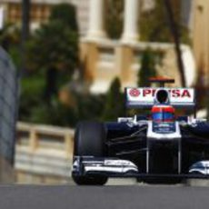 Barrichello rodando por Monte Carlo