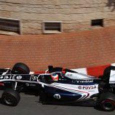 Barrichello afronta la sesión de libres