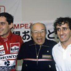 Senna y Prost, batalla de campeones