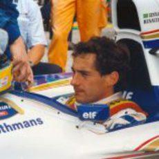La última carrera de Ayrton Senna