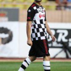 Liuzzi en el partido benéfico en Mónaco 2011