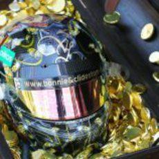 El casco de Liuzzi para el GP de Mónaco 2011