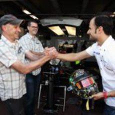 Liuzzi da las gracias a los diseñadores de su nuevo casco