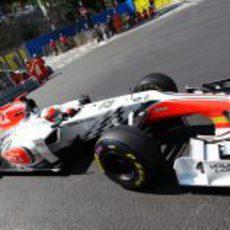 Karthikeyan acabó último en los libres de Mónaco 2011