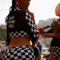 'Shorts' de cuadros para lucir cuerpo en Mónaco 2011