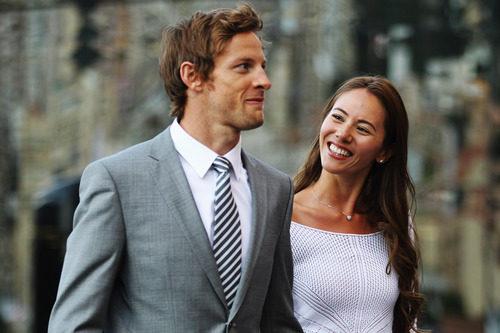La pareja más famosa de la Fórmula 1 actual en el GP de Mónaco 2011