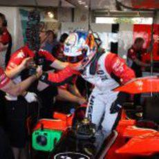 Glock celebra una de sus mejores vueltas en Mónaco tras la Q1
