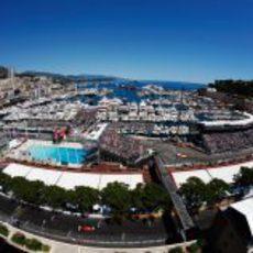 Gran panorámica del puerto de Mónaco 2011