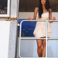 Nicole Scherzinger en el GP de Mónaco 2011