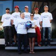 El equipo FIA de seguridad en las carreteras en Mónaco 2011