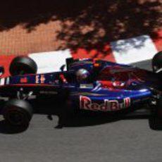 Buemi durante la clasificación del GP de Mónaco 2011