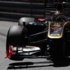 Nick Heidfeld, a tres ruedas sobre las calles de Mónaco
