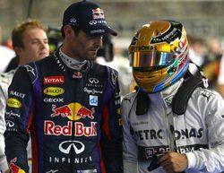 Un fallo en la suspensión dejó fuera a Hamilton al final de la Q3