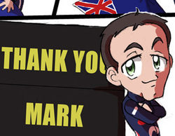 Los Chibis (128): Thank you, Mark!