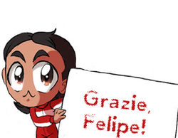 Los Chibis (129): Grazie, Felipe!
