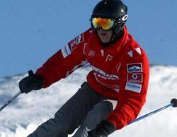 La cámara del casco de Schumacher revela que esquiaba a baja velocidad