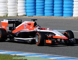 Marussia sale a la pista de Jerez con su nuevo MR03