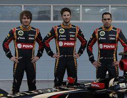 Charles Pic comparece como reserva del equipo Lotus en Baréin