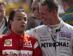 """Felipe Massa, """"muy positivo"""" sobre la recuperación de Michael Schumacher"""
