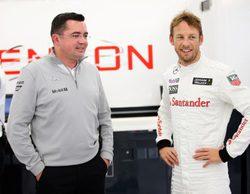 "David Coulthard: ""Button necesita un gran año para estar delante de Magnussen"""