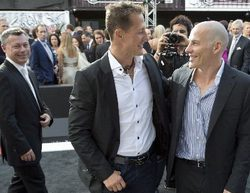 """Villeneuve, sobre el accidente de Schumacher: """"Solo fue mala suerte"""""""