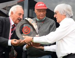 Niki Lauda no concibe la F1 actual sin la presencia de Bernie Ecclestone