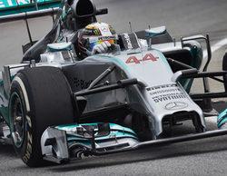Lewis Hamilton y Mercedes mandan en los primeros libres del GP de Baréin 2014