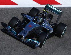 Nico Rosberg cabalga en la noche y se alza con la pole del GP de Baréin 2014