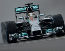 Lewis Hamilton gana la batalla en mojado y se lleva la pole del GP de China 2014
