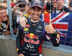 """Daniel Ricciardo vence su primer GP: """"Esto motivará a los chicos aún más"""""""