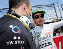 La FIA sanciona a Sergio Pérez y Max Chilton para el GP de Austria