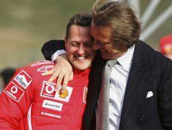 """Luca di Montezemolo: """"Michael Schumacher es un héroe"""""""