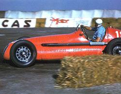 La primera de Silverstone: Villoresi y su Maserati