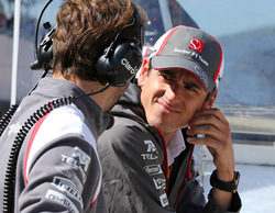 """Adrian Sutil: """"No pude conseguir que los neumáticos duros funcionasen correctamente"""""""