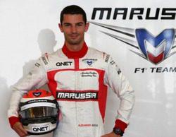 Alexander Rossi es el nuevo piloto reserva de Marussia