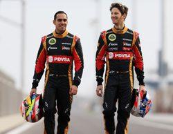 Pastor Maldonado afirma que estaría contento si Grosjean siguiera en Lotus en 2015