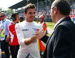 """Jules Bianchi: """"Ha sido una carrera realmente dura para nosotros"""""""