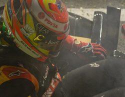 Pastor Maldonado estrenará chasis tras su accidente en los Libres 2 en Singapur
