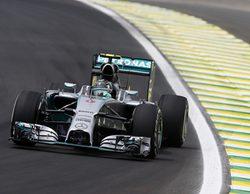 Nico Rosberg consigue una importante pole position en Interlagos