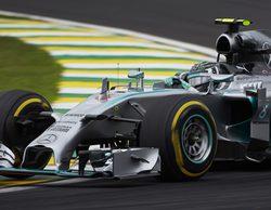 Nico Rosberg da un golpe de efecto y gana en Interlagos